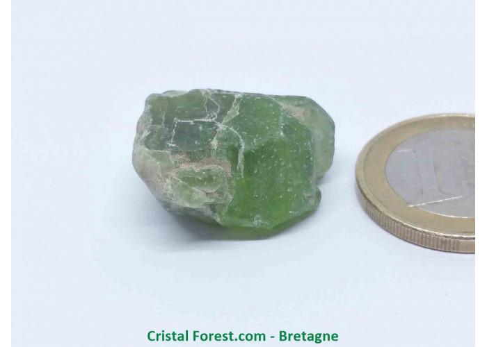 Péridot (Chrysolite) - Cristaux naturels Bruts - 2,3 x 2,2 x 1,2 cm / 9,60gr