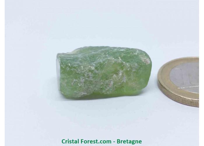 Péridot (Chrysolite) - Cristaux naturels Bruts - 2,5 x 1,8 x 1,2 cm / 11,20gr