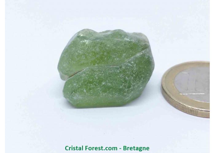 Péridot (Chrysolite) - Cristaux naturels Bruts - 2,5 x 1,7 x 1,7 cm / 13,90gr
