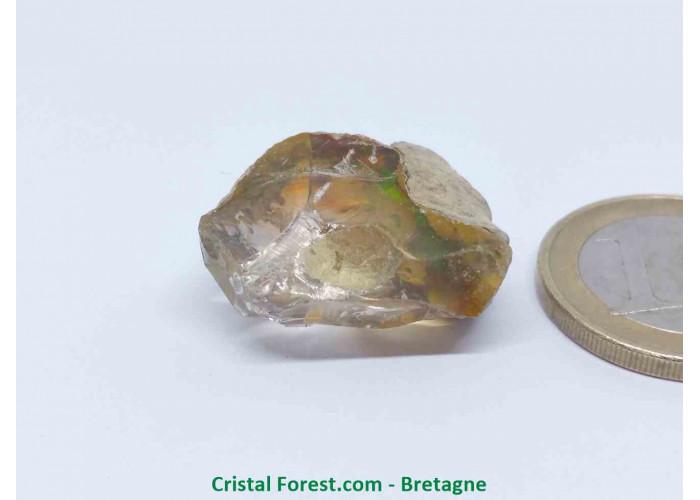 """Opale Noble """"Welo"""" AAA - Pierre gemme Brute  - 2,4 x 2,2 x 1,1 cm / 5,70gr"""