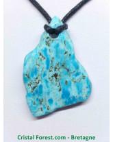 Pendentif - Turquoise 3,5cm