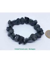 Tourmaline noire - Bracelet Pierres Brutes