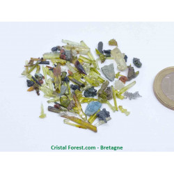 Zincite - Lot de cristaux bruts Gemmes