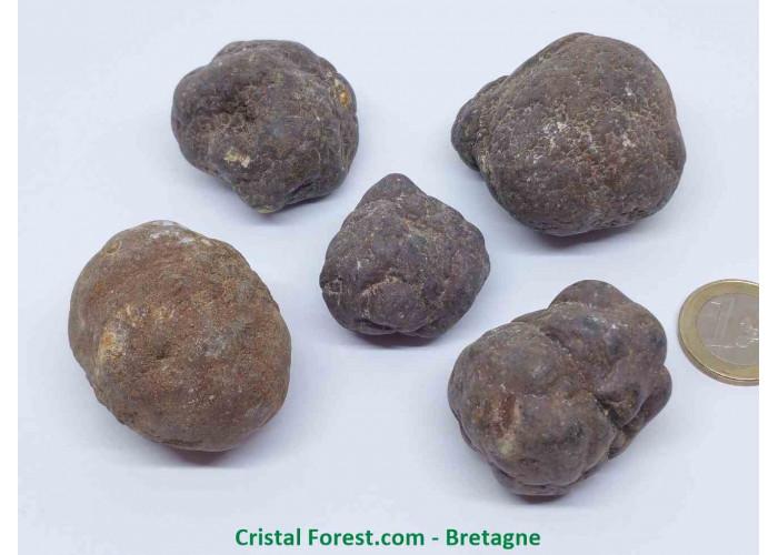 Marcassite - Pierre brute - 3.2 à 4.8cm / 50 à 150gr