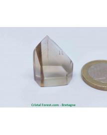 Citrine gemme naturelle - Pointes polies (prismes)