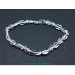 Cristal de roche - Bracelet grains