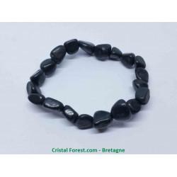 Shungite - Bracelet pierre roulée
