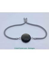 Obsidienne dorée - Bracelet Réglables Cabochon
