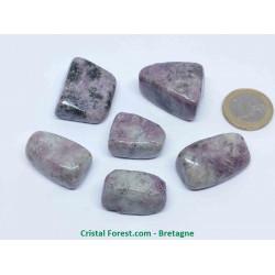 Lépidolite (mica) - Pierres roulées