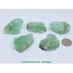 Calcite verte - Pierres brutes