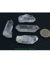 Cristal de roche - Pointes brutes multi-format