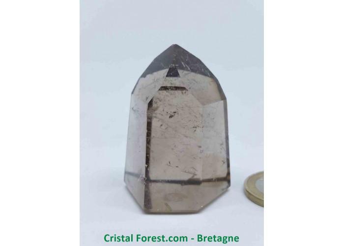 Quartz fumé - Pointes polies (prismes) - 4.6 x 3.5 x 3cm / 65,20gr