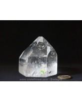 """Pointe Cristal de roche """"gemme"""" (casa) - 7x7,8x6,1 cm"""