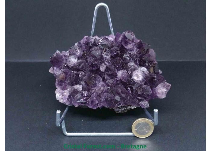 Améthyste d'Uruguay - Druses (amas) petits modèles - 12 x 9.3 x 5cm / 843,90gr
