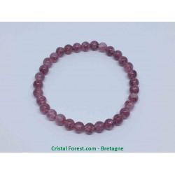 Lépidolite Extra - Bracelet Boules