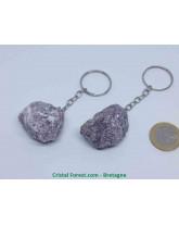 Lépidolite - Portes clefs