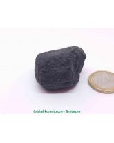 Tourmaline noire brute  (schorl) - mono-terminée