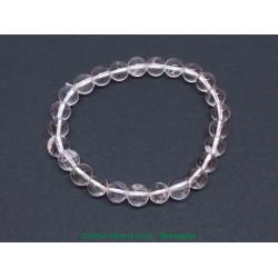 Cristal de roche - Bracelets boules 6mm - Taille Enfant