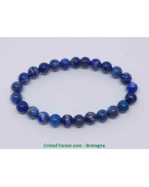 Lapis lazuli - Bracelet Boules - Grande Taille