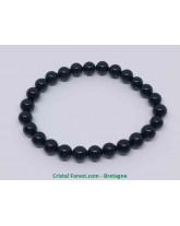 Tourmaline noire - Bracelet boules - Grande Taille