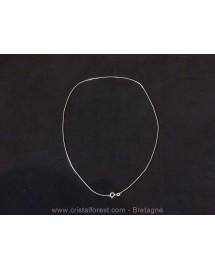 """Chaîne maille """"serpent"""" - argent 925 -  45 cm"""