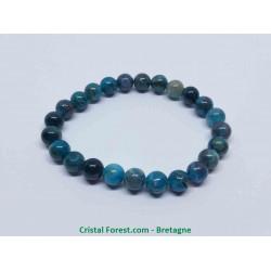 Apatite Bleue extra AAA+ - Bracelet Boules