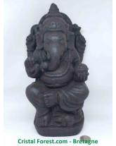 Ganesh - Pierre de Lave (Basalte)