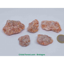 Calcite Orange - Pierre brute