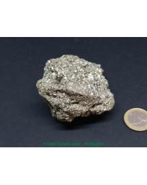 Pyrite de fer extra AAA - druse (amas) pierre brute