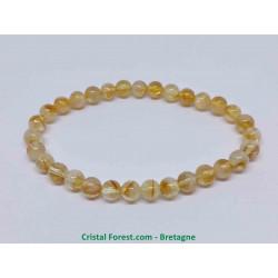 Citrine naturelle - Bracelets boules