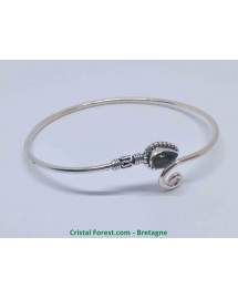Labradorite - Bracelet Argent