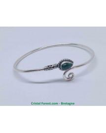 Malachite - Bracelets Argent