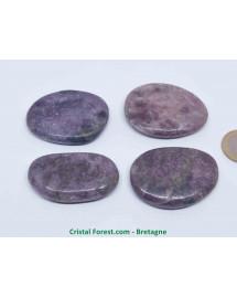 Lépidolite (mica) - Pierres Plates