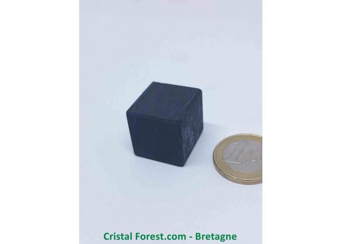 Shungite - Cube 2cm non poli - Env 2cm