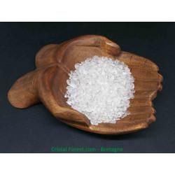 Cristal de Roche - Mini pierres roulées - Sachet  200gr