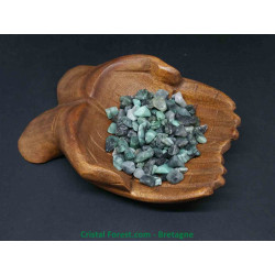 Emeraude - Pierres de décoration - Mini pierres roulées