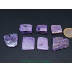 Charoïte Extra (AAA) - pierres plates