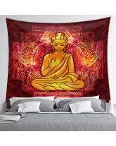 Tentures murales - 7 Chakras, Bouddha et OM (Aum)