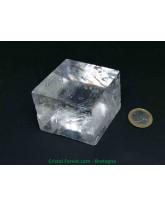 Calcite Optique Extra AAA+ - Pierre Brute