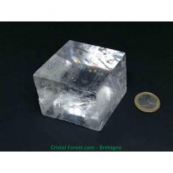 Calcite Optique Extra AAA - Pierre Brute