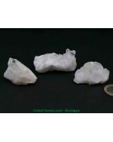 Cristal de roche AAA pour rechargement ou collection - Druses amas bruts