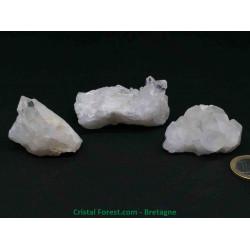Cristal de roche brut - mini Druses (amas )