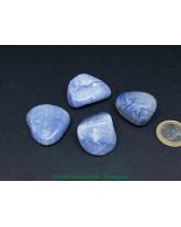 Quartz bleu - Pierre Roulée