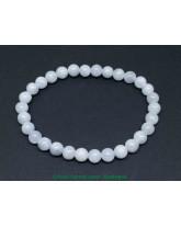 Célestine (célestite)  - Bracelet boule