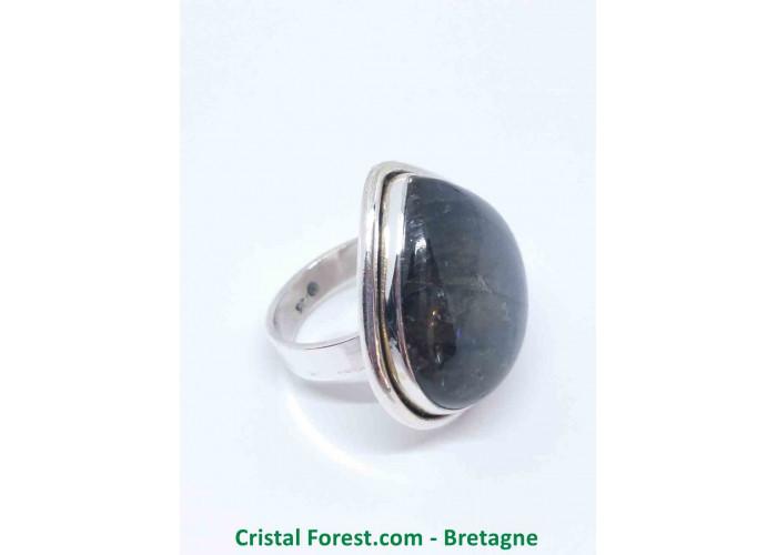 Labradorite - Bagues Sertissage Argent sterling