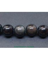 Obsidienne Oeil Celeste - Fil de Perles