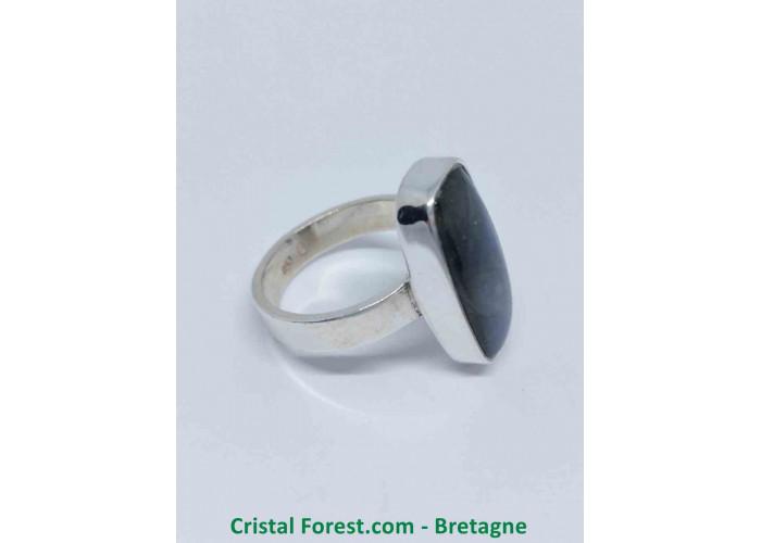 Labradorite AAA - Bague Sertissage Argent sterling