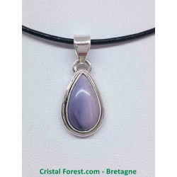 Tiffany Stone AAA - Pendentif serti Argent qualité joaillerie