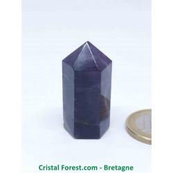 Fluorite (Fluorine) - Pointe taillée