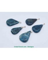 Apatite bleue - Pendentif Goutte